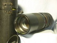 '   75-260mm FD Cased ' Canon FD Fit 75-260mm Macro Lens Cased £19.99